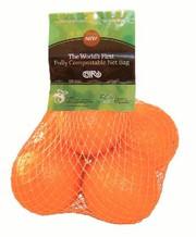 Grüne Werkstoffe: Komposttaugliches Obstnetz