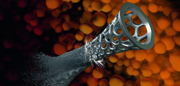 Heraeus entwickelt gemeinsam mit dem schwedischen Start-up Exmet den 3D-Druck von amorphen Bauteilen und erweitert dadurch sein Spektrum für Spezialwerkstoffe. (Quelle: Heraeus)