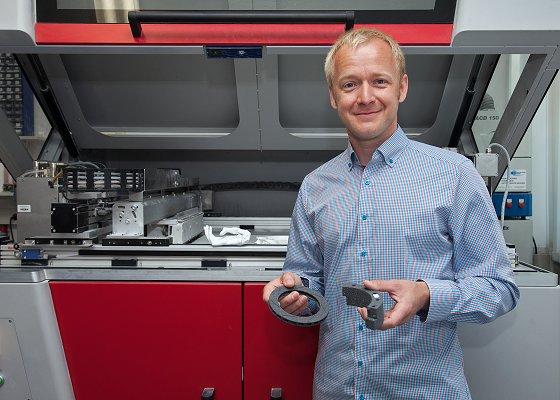 Auch für komplexe Bauteile: Siliciumcarbid aus dem 3D-Drucker