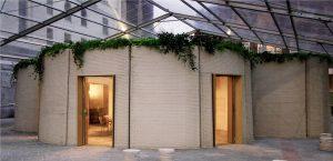 Salone del Mobile: Gedrucktes Gebäude demonstriert neue Nachhaltigkeitskonzepte für die Bauindustrie