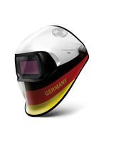 Speedglas Automatikschweißmaske: Fußball-WM: Schweißer zeigen Flagge