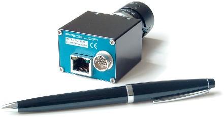 CCD-Kamera: Klein,  schnell und leicht