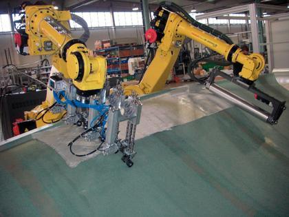 Faserverbundproduktion: Faltenfrei