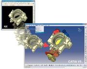 News: Fremddaten in Catia V5 nutzen