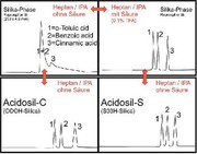 HPLC-Phasen Acidosil: HPLC ohne Säure im Eluenten