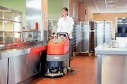 Scheuersaugmaschine: Wo Mutti sonst nur saugen kann