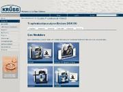 Labortechnik: KRÜSS-Webseite in neuem Kleide