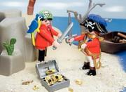 Wendeschneidplatte: Auch kleine Spielzeug-Piraten