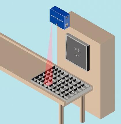 Laserprojektor LP-Cube: Lasergestützte Montage
