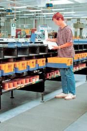 PU-Werkstep-Matten: Sicher auf der Matte