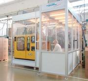 Cleanflowcell, Kunststoffverpackungen: Mit modularem Reinraum  zum sauberen Produkt