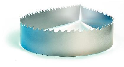 Bi-Metallsägebänder: An die Zähne gegangen