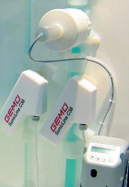 Ultraschall-Durchflußgerät: Wo keine Sturzbäche