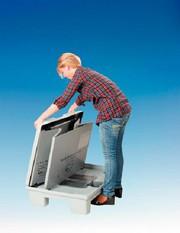Smartfix System 3000: Faltbehälter  mit Verlierschutz