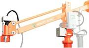 Handlinggerät mit rotationsunterstützter Drehachse: Horizontal  ganz einfach