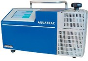 Aquatrac-3E: Feuchtegehalt von  Kunststoffen bestimmen