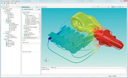 Software: Comsol Multiphysics  mit neuem Desktop vorgestellt