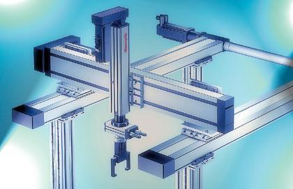Handling-Baukasten (Camo-Line), Profilschienen für Nebenbewegungen (E-Line): Auf den  Punkt genau
