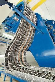Energieführung für Strahlentransportsystem: Strahlen-Transport