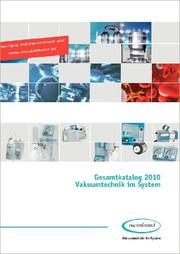 Analytica: Katalog 2010 - Vakuumtechnik im System