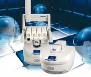 Mikrowellen-Aufschlussgerät Discover SP-D: Neues Konzept für Mikrowellen-Aufschluss Schnappdeckel statt umständliches Verschrauben