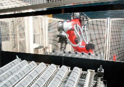 Robotik: Fertigt Stapler-Getriebe