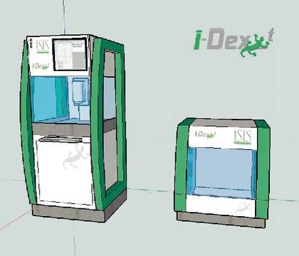 Innenraum-Inspektionssystem: Kontaktfreie Sensoren