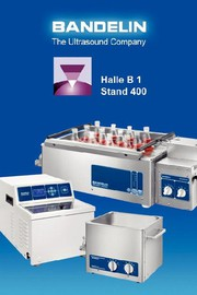 Analytica: SONOCOOL - Ultraschallgerät mit Kühlung für den Einsatz in der Pathologie und in Analyselaboren