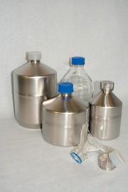 Analytica: Flaschen in Edelstahl - endlich Schluss mit zerbrochenem Glas!