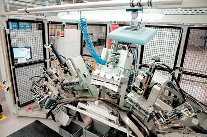 RFID-Etikettierung: Über Kopf  in action