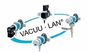 Vakuumnetzwerk VACUU-LAN: Vakuumversorgung per Netzwerk