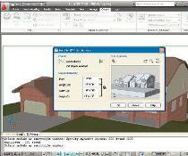 Konstruktionssoftware: Ein einstöckiges Gebäude