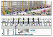 Materialfluss-Simulation WirthSim: Simulieren  statt schätzen: Frei zugängliche 3D-Materialflusssimulation