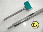 Inline-Partikelsonde IPP 70-SLE: Partikelsonde für Ex-Bereich