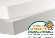 News: Schaumstoff nach  Öko-Tex Standard