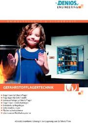 Gefahrstofflagertechnik-Broschüre: Neue Gefahrstofflagertechnik-Broschüre