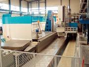 Große Stahlbauteile: Große Teile
