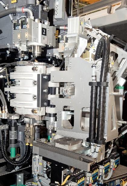 Mouldxpress Advanced: Blasformen  schneller wechseln