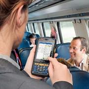 MDE-Gerät: Alle Bahndaten erfasst