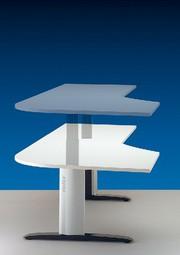 Steh- und Sitzarbeitsplatz: Kniebeugen