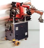 Mobile Robot: Kabelos unterwegs