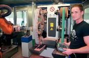 Roboter-Schleifanlagen: Was der Roboter kann