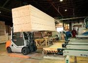 Dieselstapler RX 70-35: Viel Holz, wenig Diesel