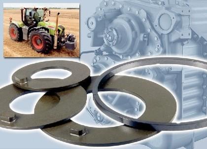 Vespel-Werkstoffe: Kunststoff treibt  den Traktor