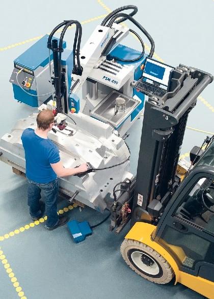 Laserschweißmaschine: Erfolgreich gestartet