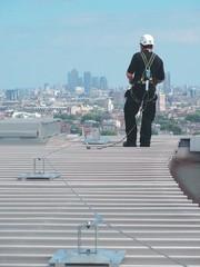 Seilsicherungssystem: Für alle Dachtypen