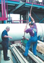 Heizelemente und -anlagen: Knapp zwei Tonnen schwer