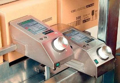 Großschrift-Tintenstrahldrucker der Videojet 2300: Kennzeichnet Kartons