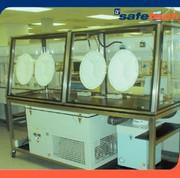 Arbeitsschutz: Kabine mit klimakontrolliertem Innenraum