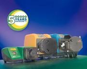 Schlauchpumpen-Serien 520/620/720: Jetzt 5 Jahre Garantie auf Schlauchpumpen
